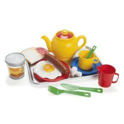 Dantoy műanyag reggeliző szett tálcán unisex