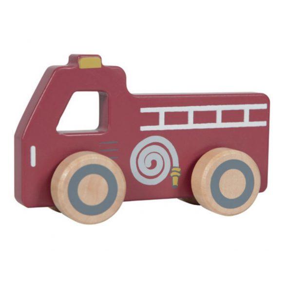 Little Dutch vészhelyzet fa kisautó szett (3 db)