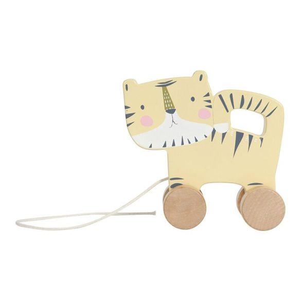 Húzható játék tigris- Little Dutch fa játék - 4451