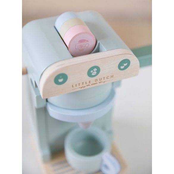 Fa játék kávéfőző szett - Little Dutch- 4460