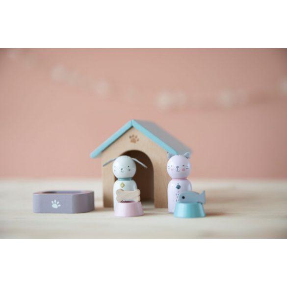 Babaház kiegészítő szett házikedvencek - Little Dutch - 4475