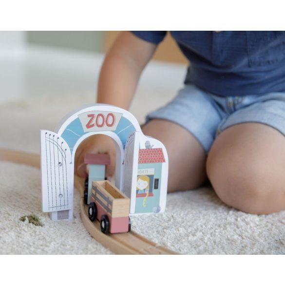 Little Dutch játék állatkert - fa vasút kiegészítő