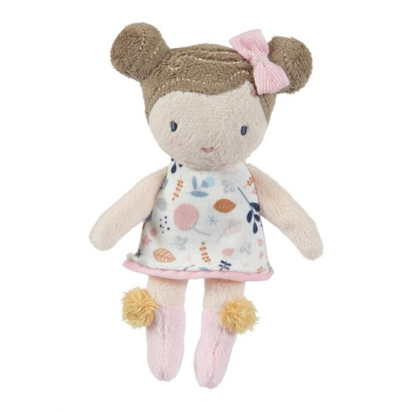 Rosa baba - rongybaba - 10 cm - Little Dutch - 4520