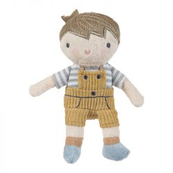 Jim baba - rongybaba - 10 cm - Little Dutch - 4523