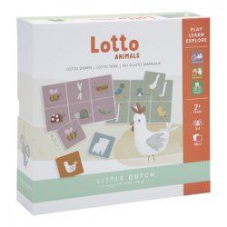 Little Dutch állatos lottó játék gyerekeknek