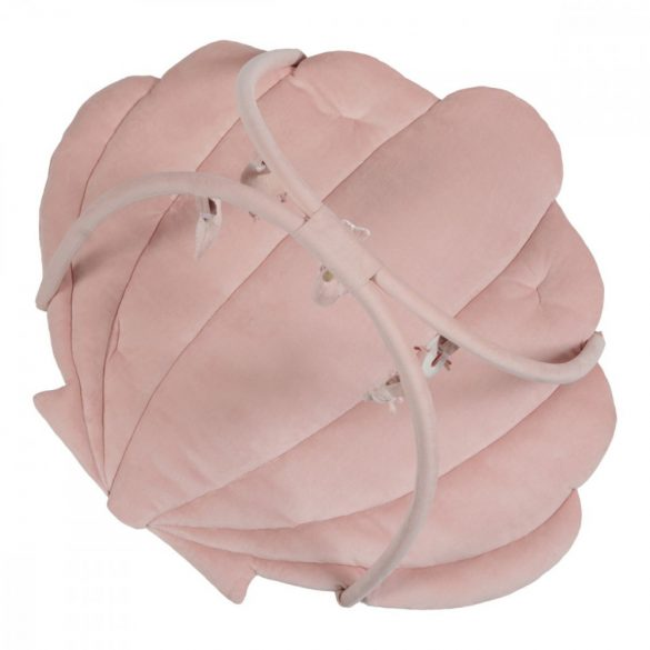 játszószőnyeg játékhíddal tengeri állatos pink - Little Dutch - 4845
