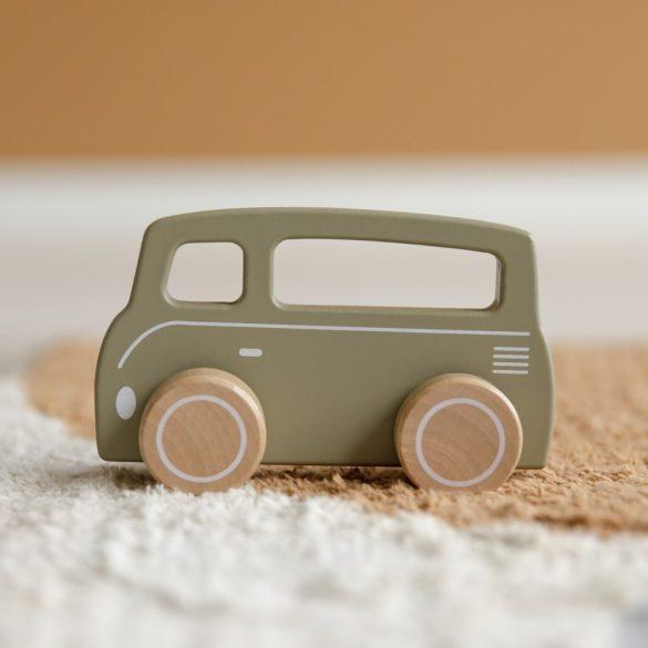 Little Dutch olívazöld kisbusz