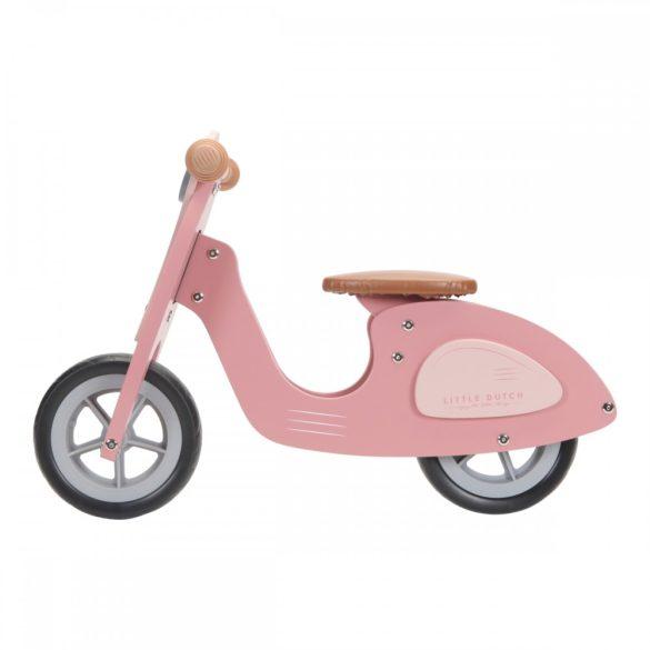 Fa robogó adventure pink - Little Dutch - 4373