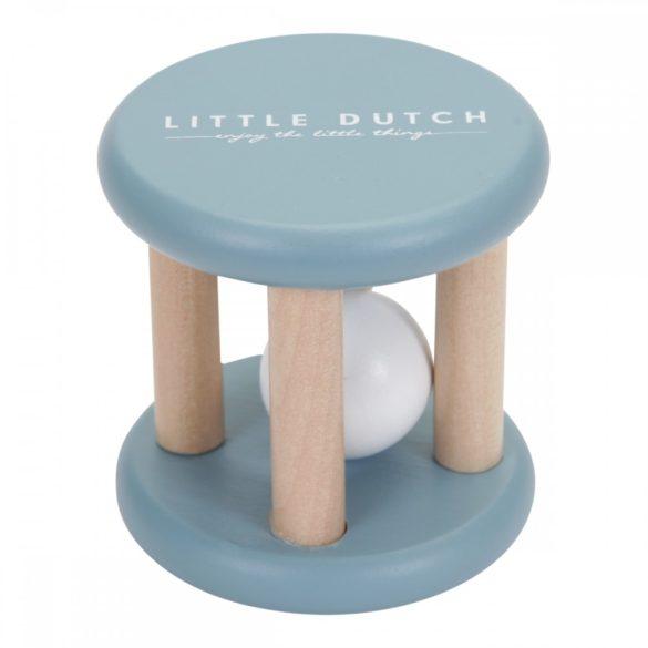 Little Dutch kék fa csörgő