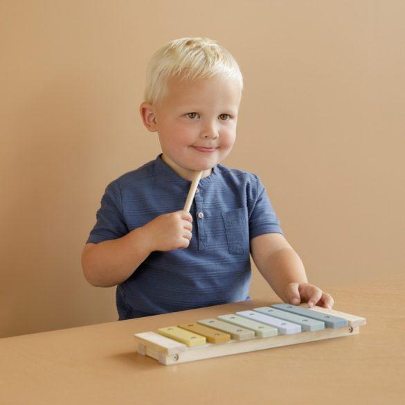 Little Dutch xilofon gyerekeknek - kék