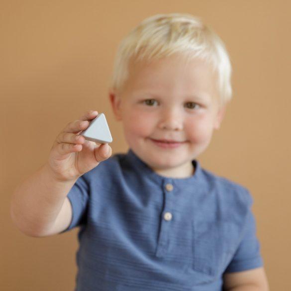 Little Dutch kék fa formabedobó kocka