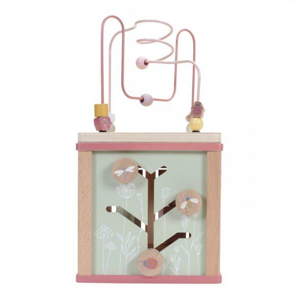 Little Dutch készségfejlesztő kocka - pink
