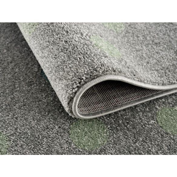 Gyerekszőnyeg Livone CONFETTI menta pöttyös 160x230 cm