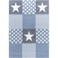 Livone gyerek szőnyeg STARWALK kék 160x230 cm
