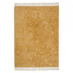 Okker pöttyös, 120x170 cm-es Little Dutch gyerekszőnyeg