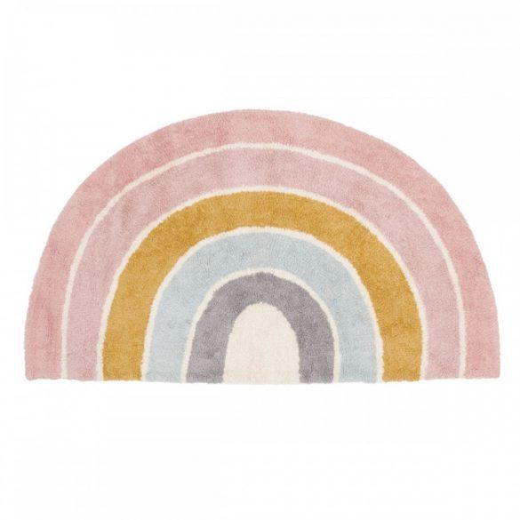 Pink szivárványos, 130x80 cm-es Little Dutch gyerekszőnyeg