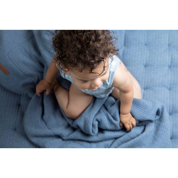Little dutch nyári babatakaró pure kék