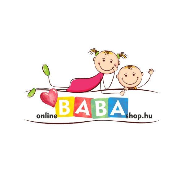 Little Dutch lily leaves pink textil tárolókosár 15x15 cm
